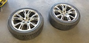 SRT8 Jeep Wheels Fronts Only for Sale in Seattle, WA