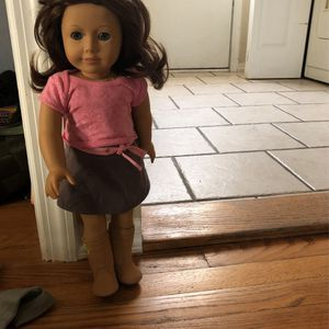 American Girl Doll With Clothes In Pic for Sale in Emerson, NJ