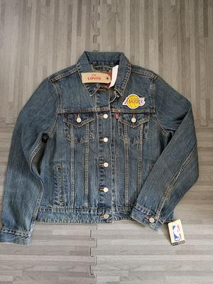 Levi's NBA Los Angeles Lakers Womens Trucker Jacket Sz L & XL for Sale in San Diego, CA