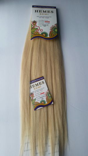 Hair extensions , 100 % human hair remy ( blonde #613 ) for Sale in Downey, CA