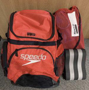 Speedo Teamster Large Backpack w/ swim training buoy for Sale in La Habra Heights, CA