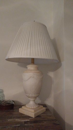 Ethan Allen Marble Lamp for Sale in Sully Station, VA