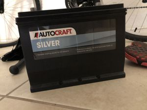 Brand new car battery including warranty receipt for Sale in Pompano Beach, FL
