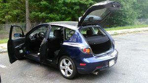 2006 Mazda 3 hatchback sunroof good condition clean and out for Sale in Queens, NY