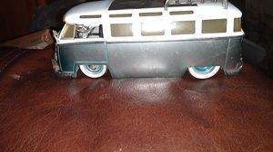 1962 Volkswagen Bus Gray and White 1/24 Diecast Scale Model for Sale in North Highlands, CA