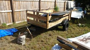 About 5x10 trailer w side boards and gate $350 for Sale in Haines City, FL
