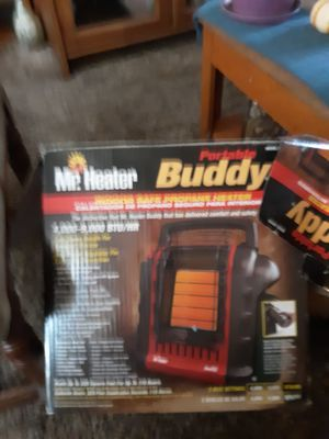Buddy heater used one winter ..works perfect..$30 model mh9bx for Sale in Auburn, WA