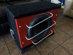"""JL Audio 13.5"""" W7 Anniversary Edition Subwoofer in JL ProWedge Box for Sale in El Mirage, AZ"""