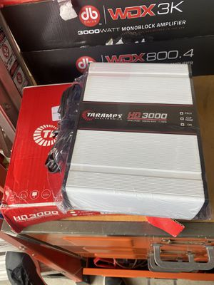 Brand new taramps 3000 watts rms for Sale in Tracy, CA