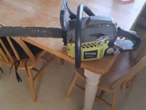 Ryobi chainsaw for Sale in Elberton, GA