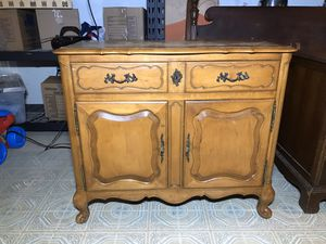 """Antique Bureau Buffet TV Stand Vintage Storage Cabinet 40""""x19""""x34"""" for Sale in Silver Spring, MD"""
