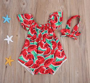 Watermelon baby girl romper for Sale in Los Angeles, CA