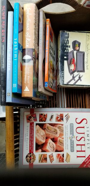 Sushi books and dvd for Sale in Elk Grove, CA