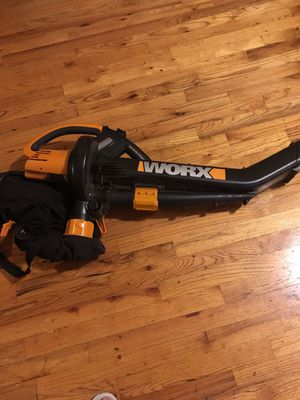 WORX LEAF BLOWER AND MULCHER for Sale in Brooklyn, NY