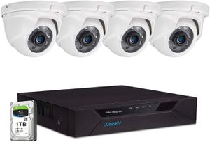 LONNKY 8CH Full HD 1080P Expandable Security Camera System for Sale in Fountain Valley, CA