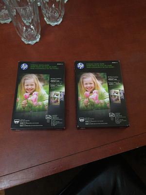 """HP 4x6"""" photo paper (2 boxes) for Sale in Norfolk, VA"""
