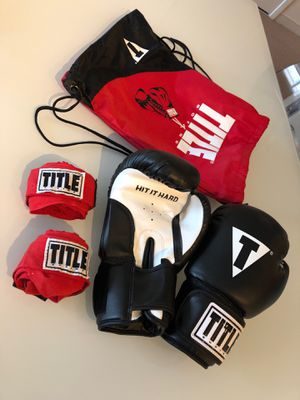 Boxing gloves with backpack. Excellent conditions, barely used for Sale in Cambridge, MA