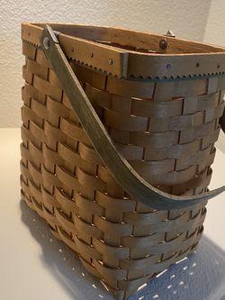 Longaberger basket for Sale in Tulalip,  WA