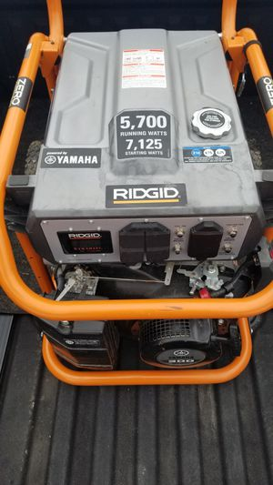Rigid Zero Gravity 5700/7125 watt Generator for Sale in Franklin, MA