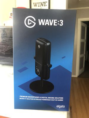 Elgato Wave: 3 Microphone and Digital Mixer for Sale in San Bruno, CA