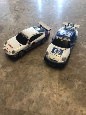 Pair Of Porsche 911 Scx Compact Racing Slot Cars Sonax #5 Hp #11 1/43 for Sale, used for sale  South Elgin, IL