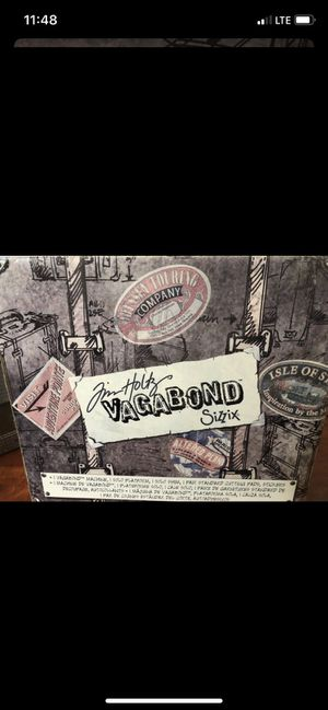 Tim Holtz Vagabond Sizzix for Sale in Naperville, IL
