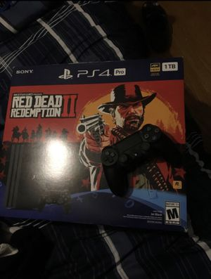 Ps4 Pro 1 Terabyte Brand New w/ New headset for Sale in Meriden, CT