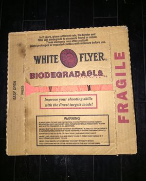 White Flyer Clay Pigeons for Sale in Glendale, AZ