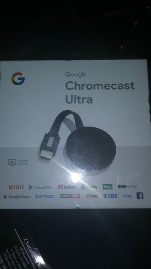 Chromecast Ultra for Sale in El Cajon, CA