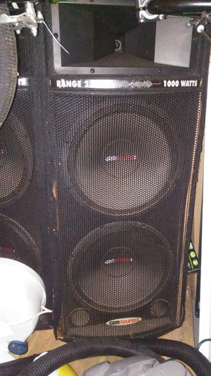 Dual 15in Dj speakers I'm upgraded for Sale in St. Louis, MO