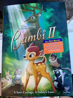 Disney's Bambi 2 DVD!! for Sale in Marietta, GA