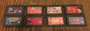 NINTENDO GBA GAME LOT BARBIE DORA NES GB GBC N64 RARE RETRO VINTAGE CARTRIDGE for Sale for sale  Brooklyn, NY
