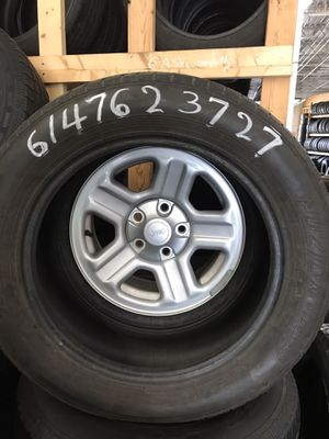Good used tires here 4299 Kimberly parkway Columbus Ohio 43232 for the size call for Sale in Columbus, OH