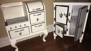 American Girl Doll Stove and Fridge Antique Set! for Sale in Lexington, SC
