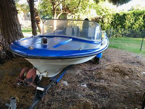 14' boat with 50hp Mercury outboard for Sale in Portland, OR