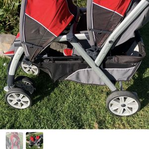 Kids Double Stroller Great Condition for Sale in Huntington Beach, CA