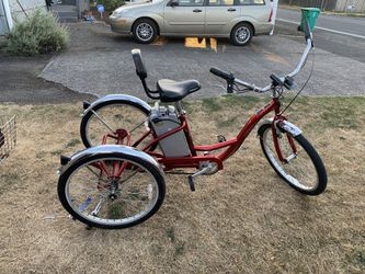 48 Volt Electric Trike Ebike for Sale in Portland,  OR