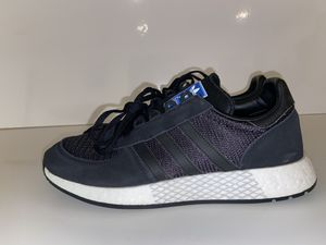 Adidas Originals Men's Marathon Tech Boost Black/ White G27463 Mens Size 11 for Sale in Salt Lake City, UT