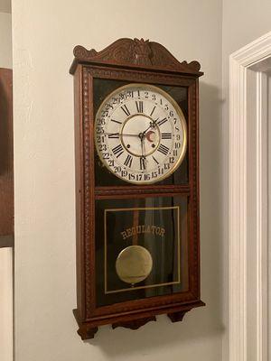 Antique Gilbert calendar wall clock for Sale in Cape Coral, FL