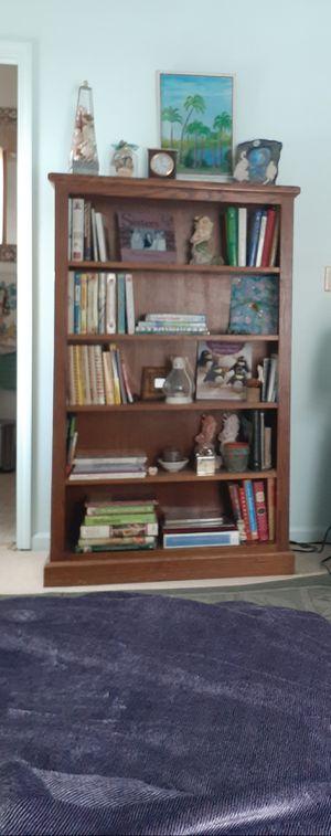 Oak Bookcase - Quality Solid Furniture for Sale in Portage, MI