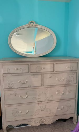 Dresser with mirror and side table for Sale in Silver Spring, MD