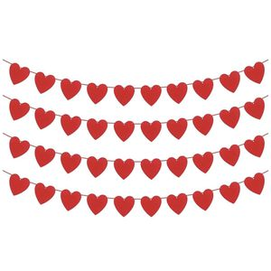 Red Hearts Valentines Decorations 64 Pcs for Sale in Hialeah, FL