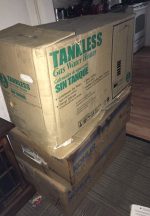 rheem tankless water heater rtg-74pvn-2 for Sale in Raleigh, NC