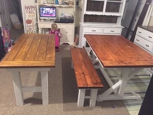 Farm House Tables - DINNING TABLE for Sale in Gambrills, MD