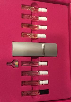 Macy's perfume sampler— see pics for varieties included for Sale in Long Beach, CA