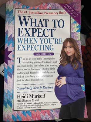 Pregnancy Book What to Expect 5th Edition for Sale in Fontana, CA