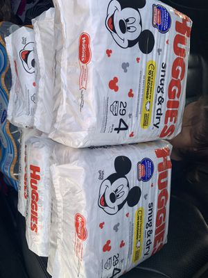 Huggies size 4&5 6$ each for Sale in Atlanta, GA