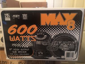 A brand new pair of 8 inch subwoofers for Sale in Cleveland, OH