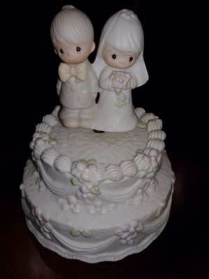 Precious Moments Musical Cake Topper for Sale in Warrenville, IL