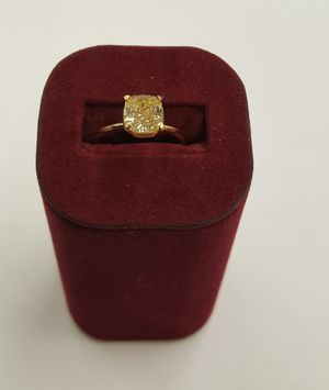 Tiffany Canary Yellow Diamond Engagement Ring for Sale in Austin, TX